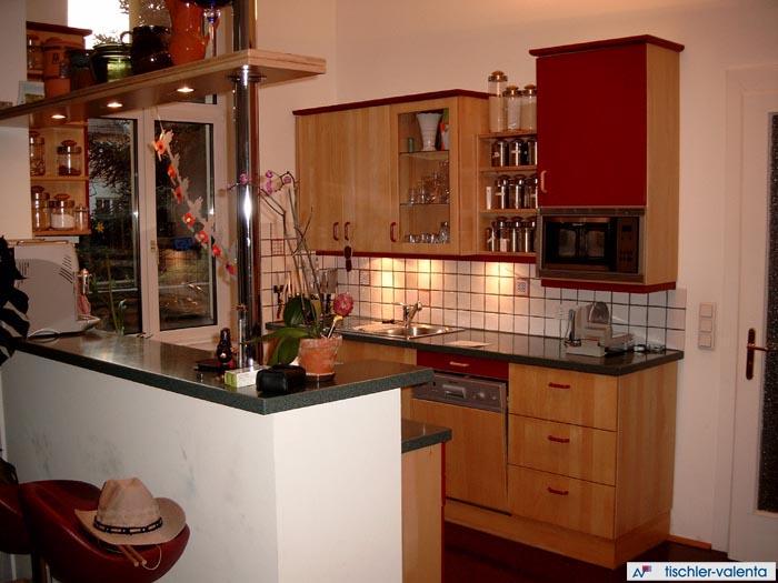 Kuche buche grau for Single kuchenblock minikuche